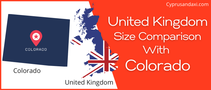 Is the UK bigger than Colorado