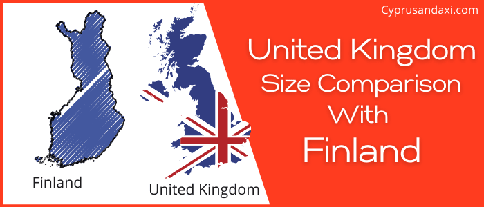 Is the UK bigger than Finland