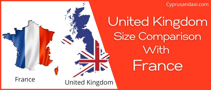 Is the UK bigger than France
