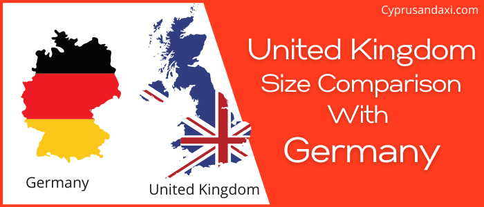 Is the UK bigger than Germany