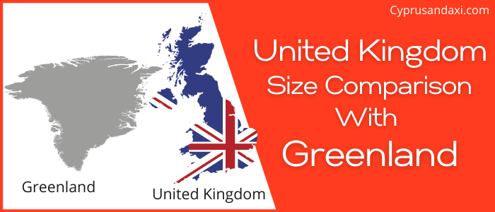 Is the UK bigger than Greenland