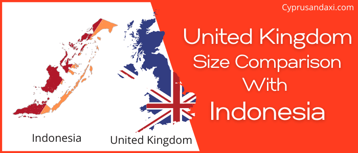 Is the UK bigger than Indonesia