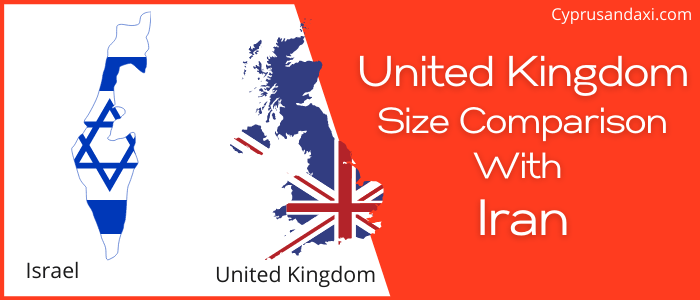 Is the UK bigger than Israel