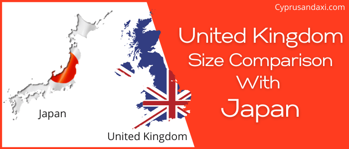 Is the UK bigger than Japan