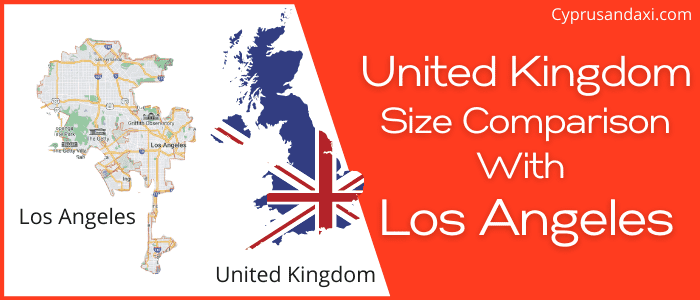 Is the UK bigger than Los Angeles