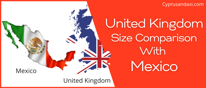 Is the UK bigger than Mexico