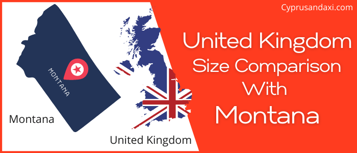 Is the UK bigger than Montana