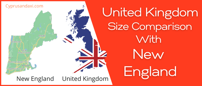 Is the UK bigger than New England