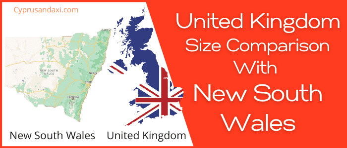 Is the UK bigger than New South Wales