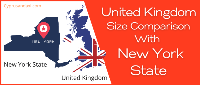 Is the UK bigger than New York State