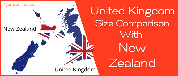 Is the UK bigger than New Zealand