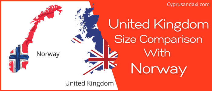 Is the UK bigger than Norway