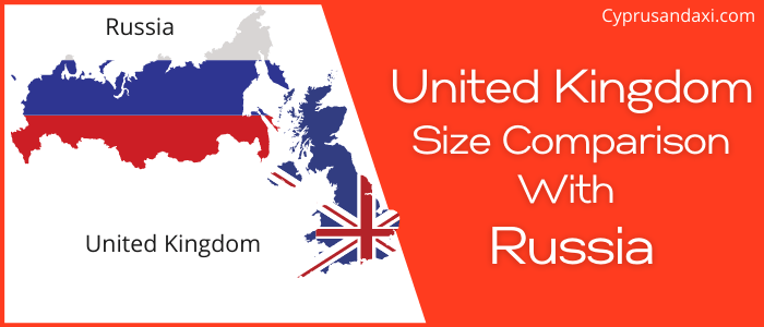 Is the UK bigger than Russia