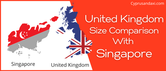 Is the UK bigger than Singapore