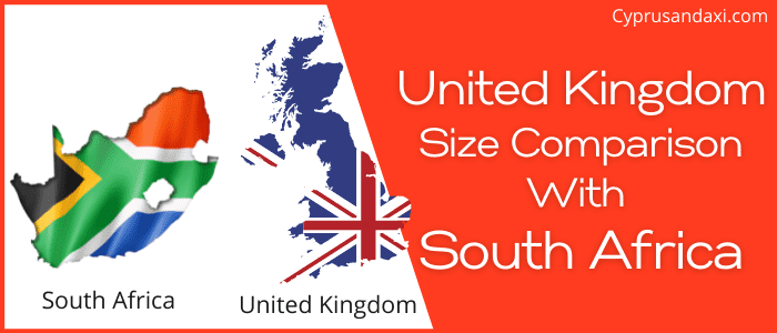 Is the UK bigger than South Africa