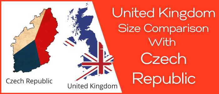 Is the UK bigger than the Czech Republic