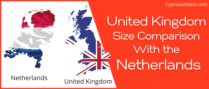 Is the UK bigger than the Netherlands