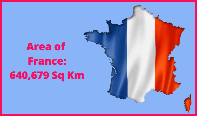 Area of France compared to Alberta