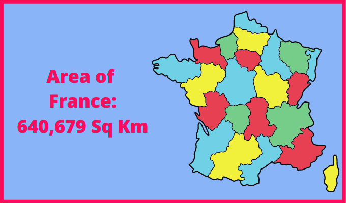 Area of France compared to Majorca