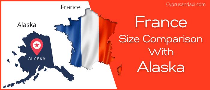 Is France bigger than Alaska