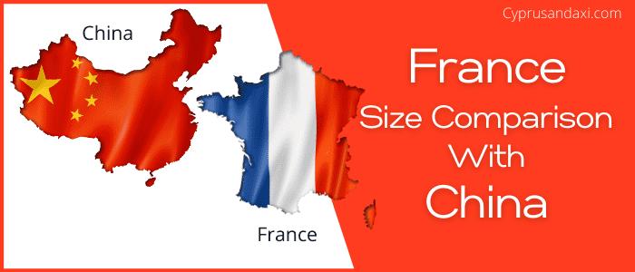 Is France bigger than China