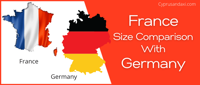 Is France bigger than Germany