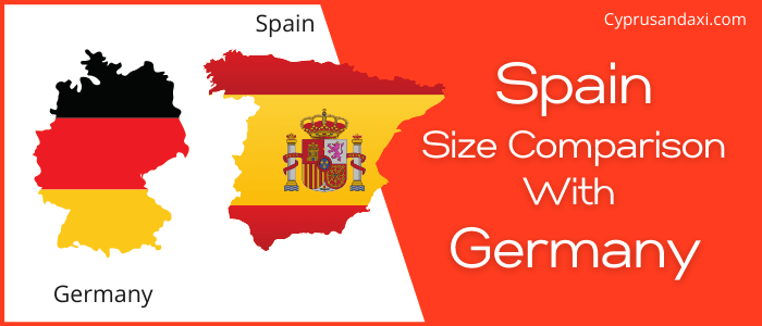 Is Spain bigger than Germany
