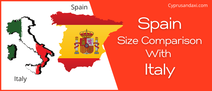 Is Spain bigger than Italy