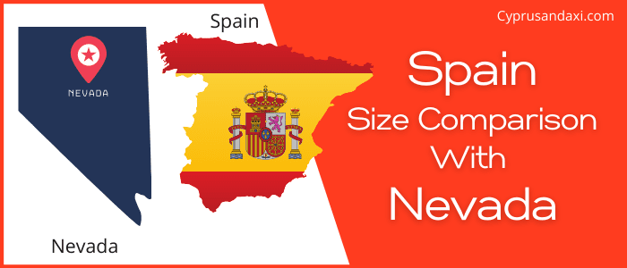 Is Spain bigger than Nevada